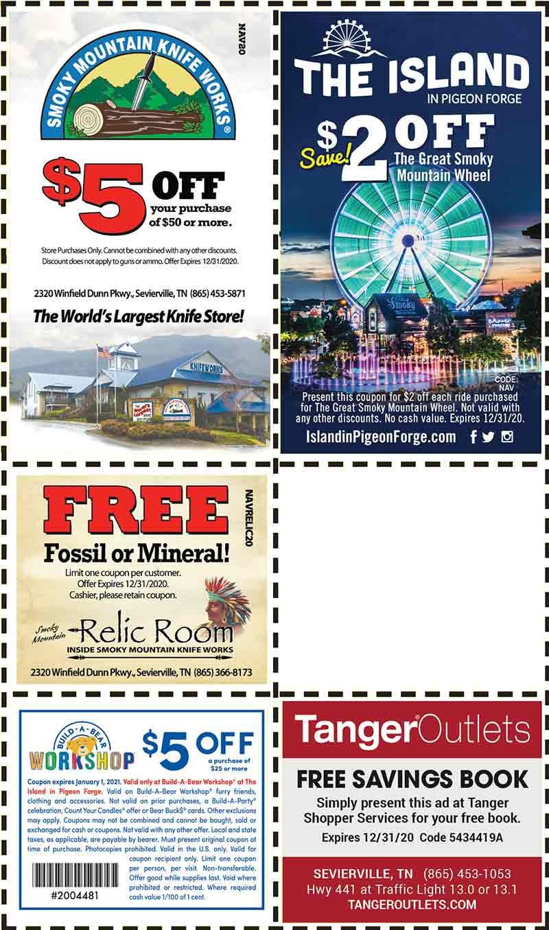 Smoky Mountains Pigeon Forge Coupons Gatlinburg Discount Coupons Gatlinburg Discounts Gatlinburg Coupons Gatlinburg