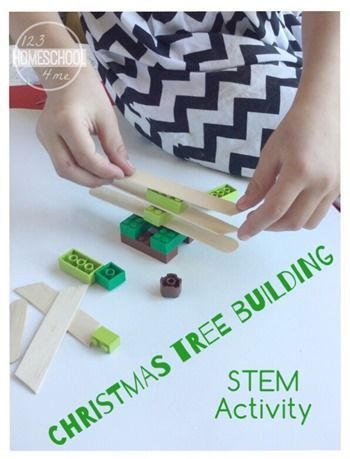 Christmas Stem Activity Tree Building Educational Blogs And