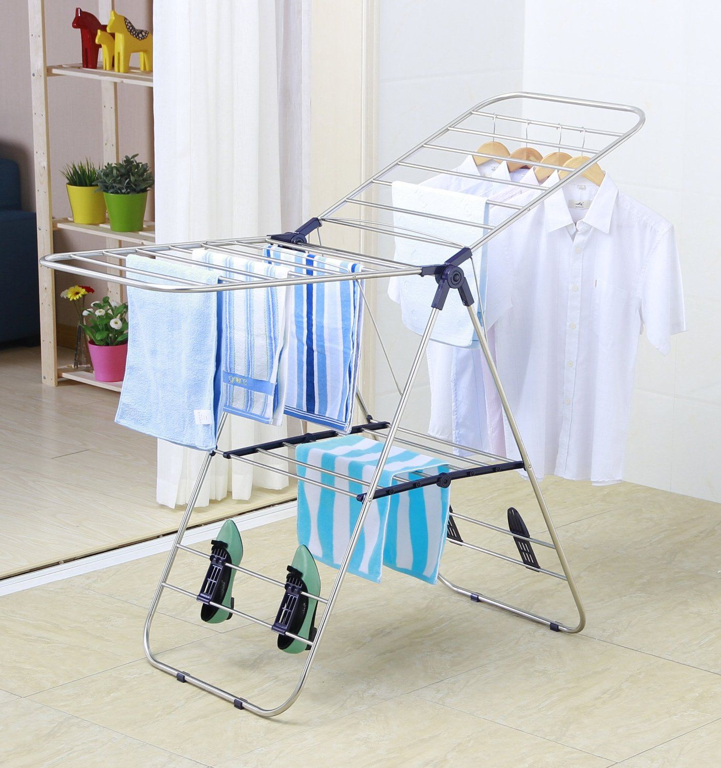 Amazon Drying Rack Amazon  Ewei's Homewares Heavy Duty Stainless Steel Clothes