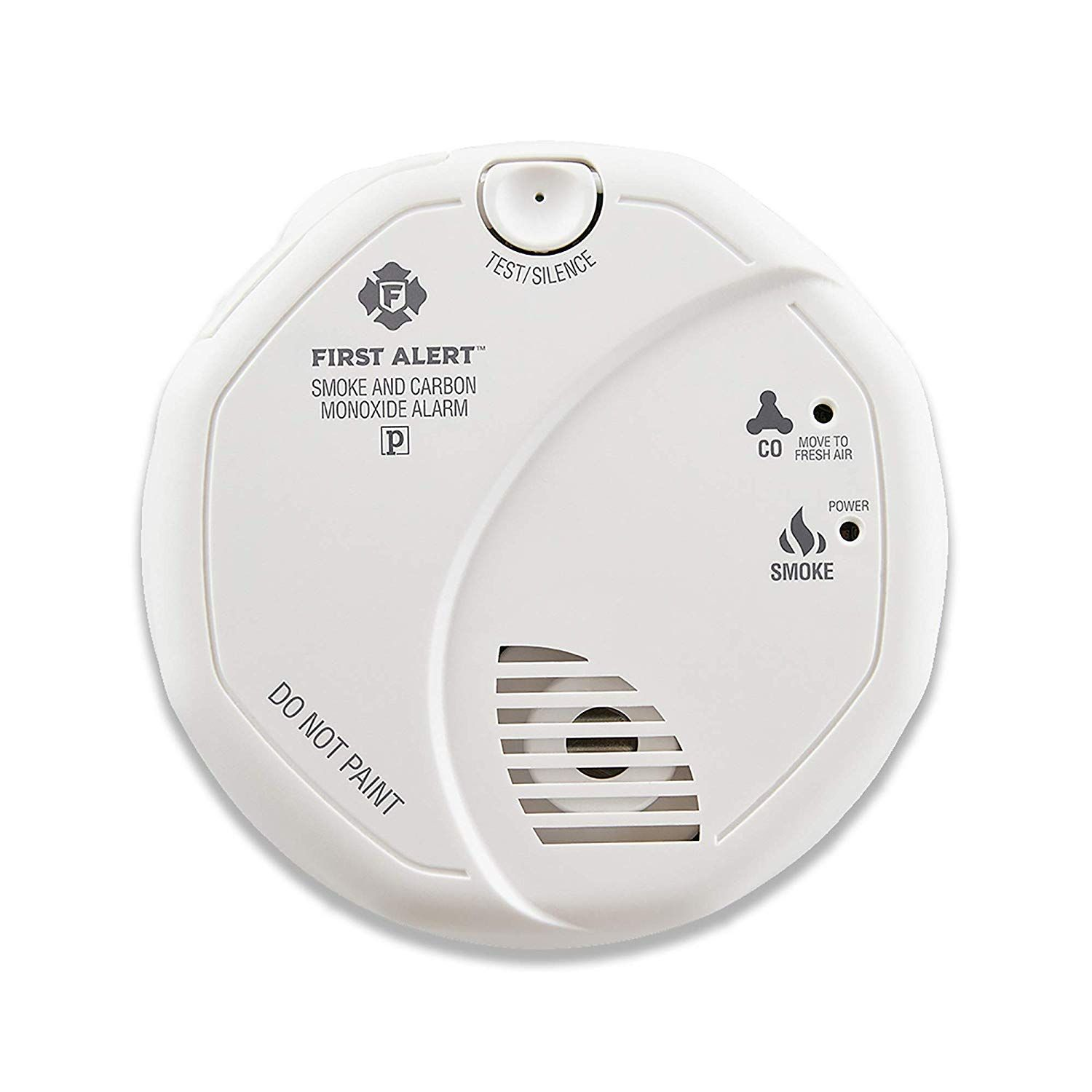 First Alert Smoke Detector And Carbon Monoxide Detector Alarm Battery Operated Sco5cn Combina Carbon Monoxide Detector Carbon Monoxide Alarms Smoke Alarms