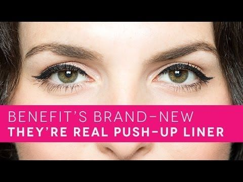 Image 1 of benefit they're real! Push up liner.