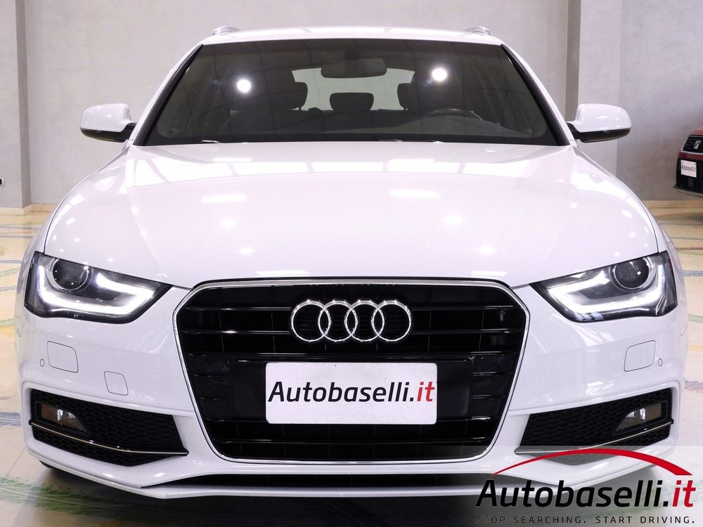 Audi A4 Avant 2 0 Tdi Advanced Multitronic S Line Autobaselli It