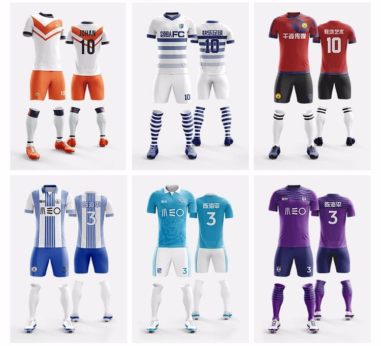 lowest price 6ffa0 c1262 soccer uniform jersey shirts sets for teams bulk wholesale ...