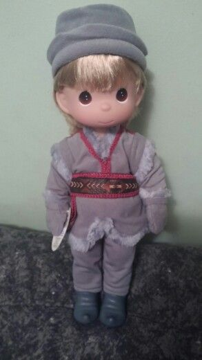 My new Kristoff precious moments doll  :)