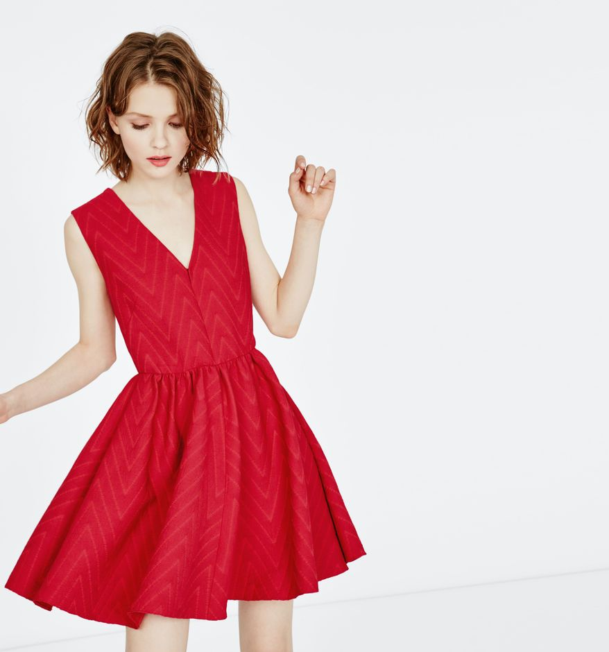 Vero moda sien robe rouge
