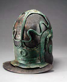 Roman cavalry helmet, type Nederbieber III (photo: Archäologisches Landesmuseum Schleswig)