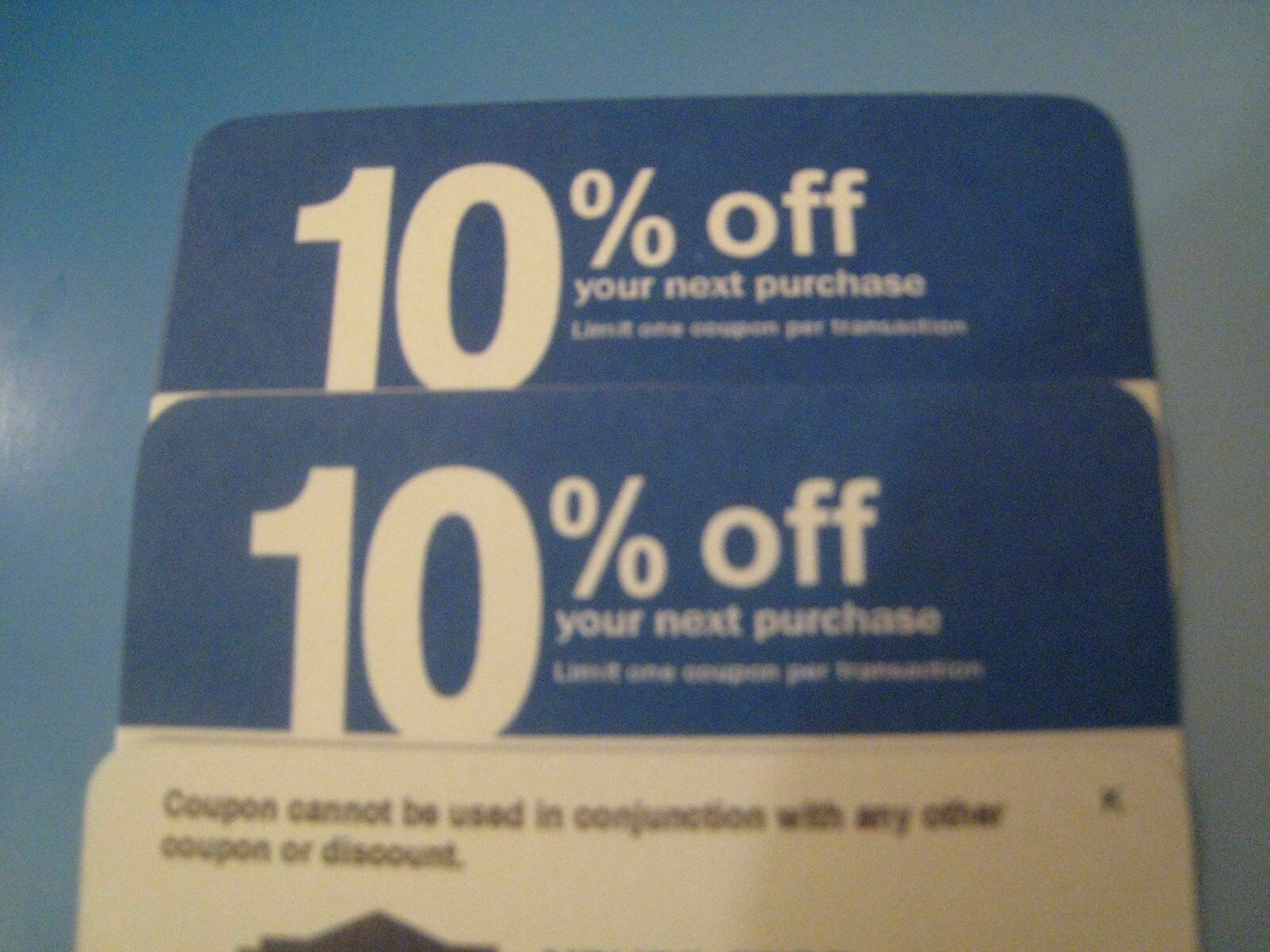 (4X) home depot 10 OFF! exp 10/2020 Lowes coupon ONLY