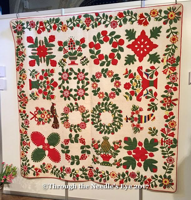 Maryland Album Quilt Grisfield, Maryland 1850 Mary Koval | Album ...