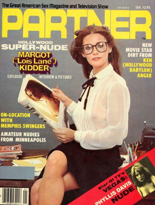 blueruins: Margot Kidder Vintage Magazine - Partner