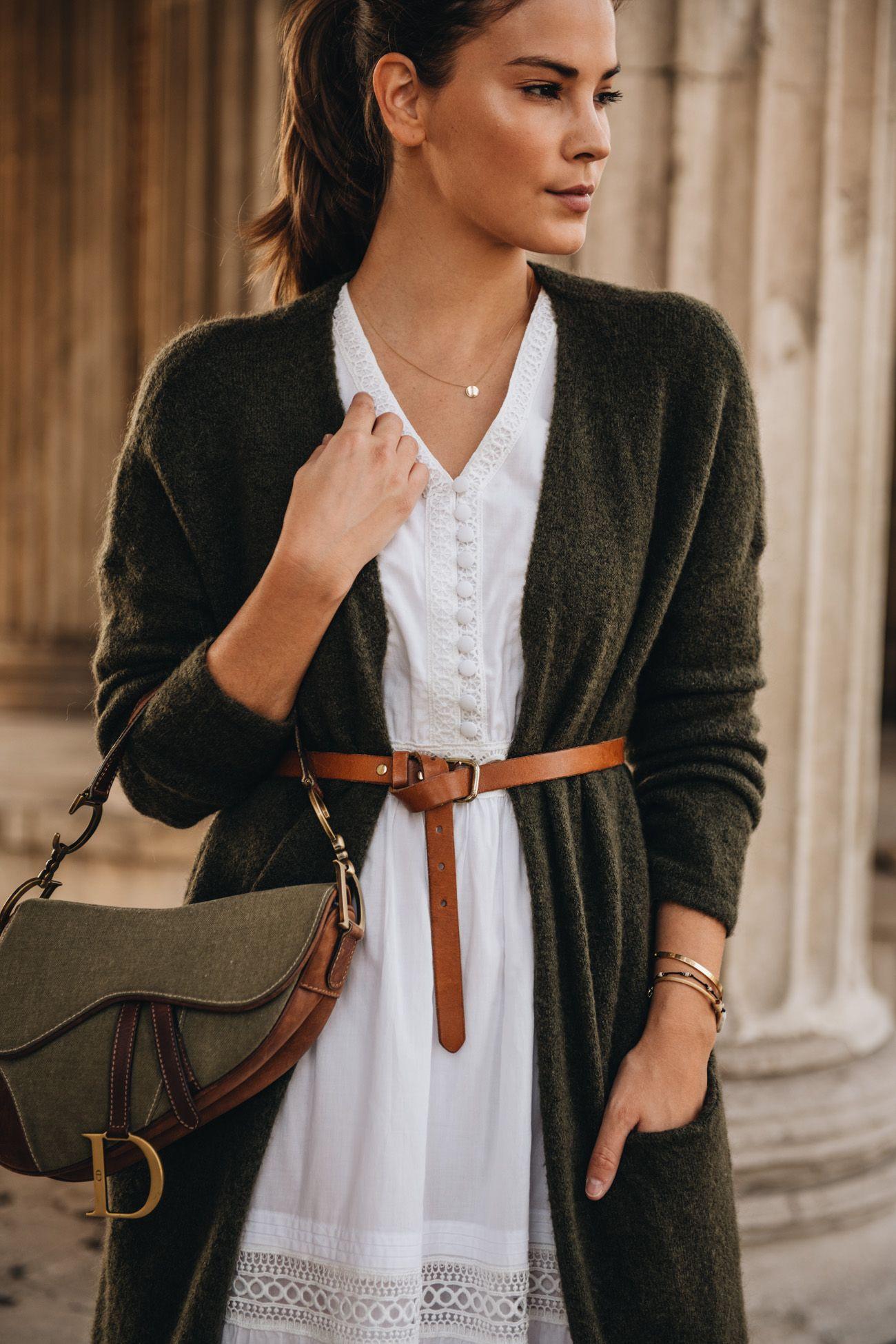 Banú Emma Dress kombiniert als Herbstoutfit   Kleid und ...