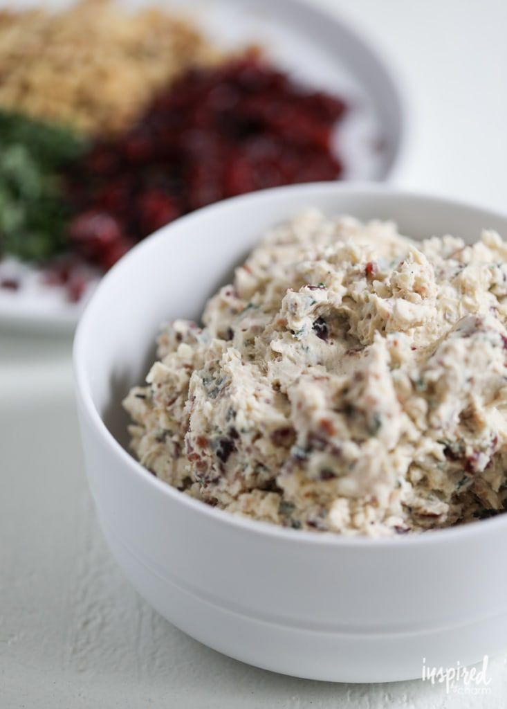 Try this Cranberry Bacon & Walnut Cheeseball for a delicious and easy fall appetizer recipe.