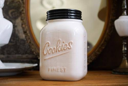 Rustic Cookie Jar Endearing Rustic Ceramic Cookie Jar  Perfect For Your Vintage Country And Inspiration