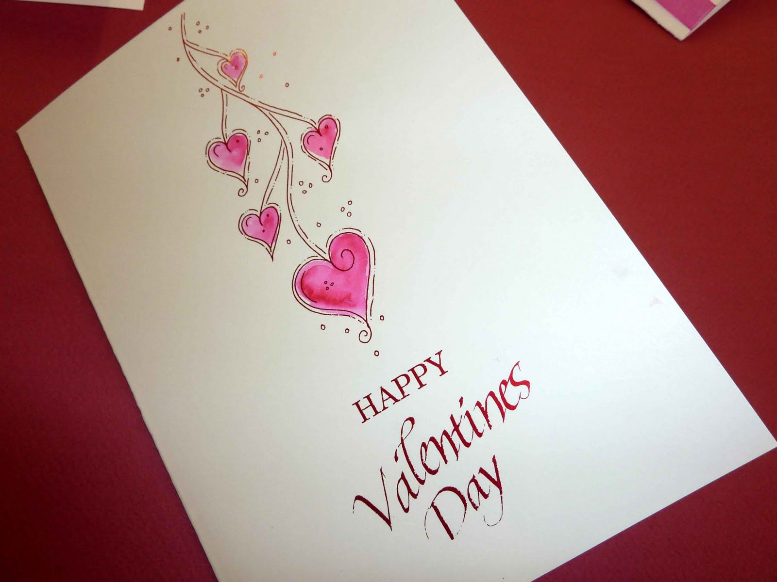 Handmade Valentines Day Cards For Friendshandmade Valentines Day – Simple Valentines Day Cards