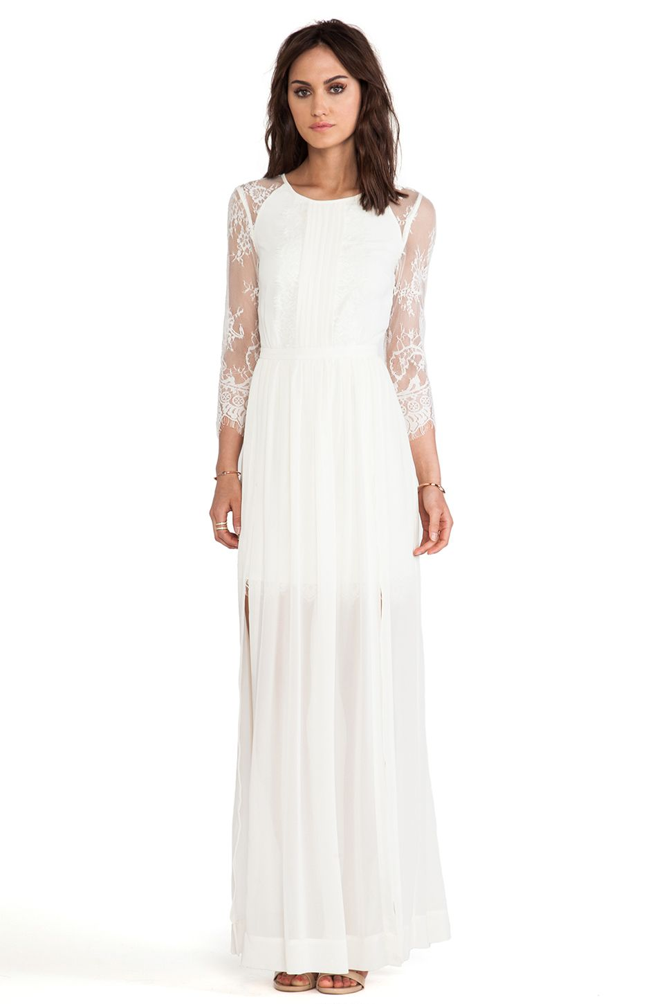 Alice by temperley long hemingway lace back dress style