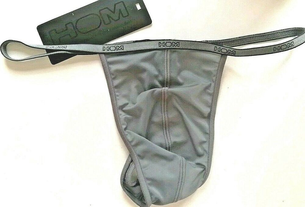 cb70caf30b3 HOM MENs PLUME II STRING GRAY CHIC BIKINI CHOOSE SIZES S or M NIB FREE SHIP  WD #fashion #clothing #shoes #accessories #mensclothing #underwear (ebay  link)
