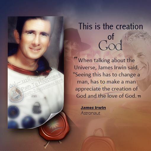 James Irwin ***************** Astronaut Genesis 1 : 1 In ...