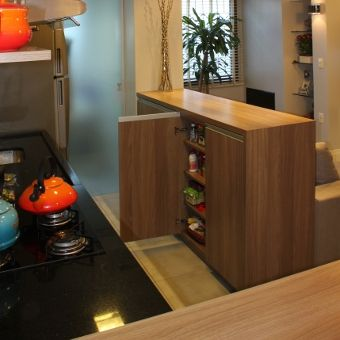 Textura De Madeira Interessante Cozinhas Modernas Decoracao