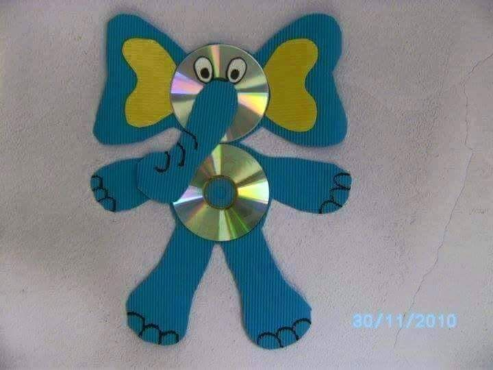 Waste Cd Craft Ideas For Kids