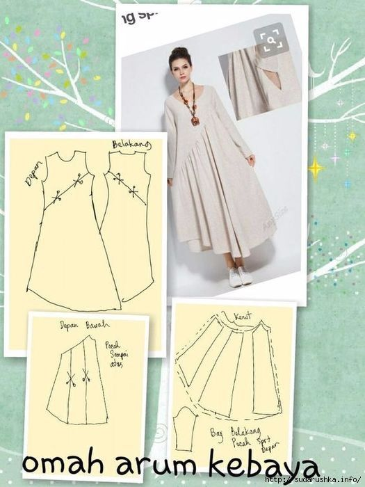 Loose tunic dress | Diy clothes | Pinterest | Vestido para gorditas ...