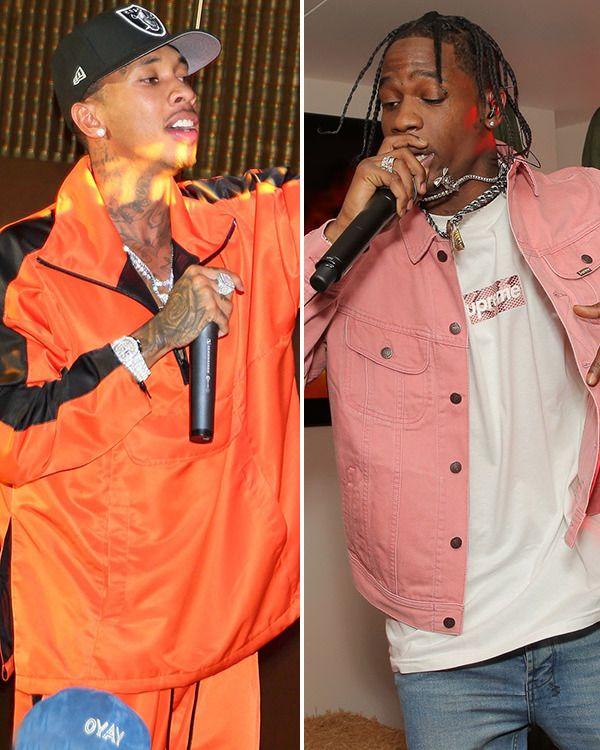 Tyga Hoping To Destroy Travis Scott In Vicious Rap Battle To Win Kanye S Support Tyga Rap Battle Kanye