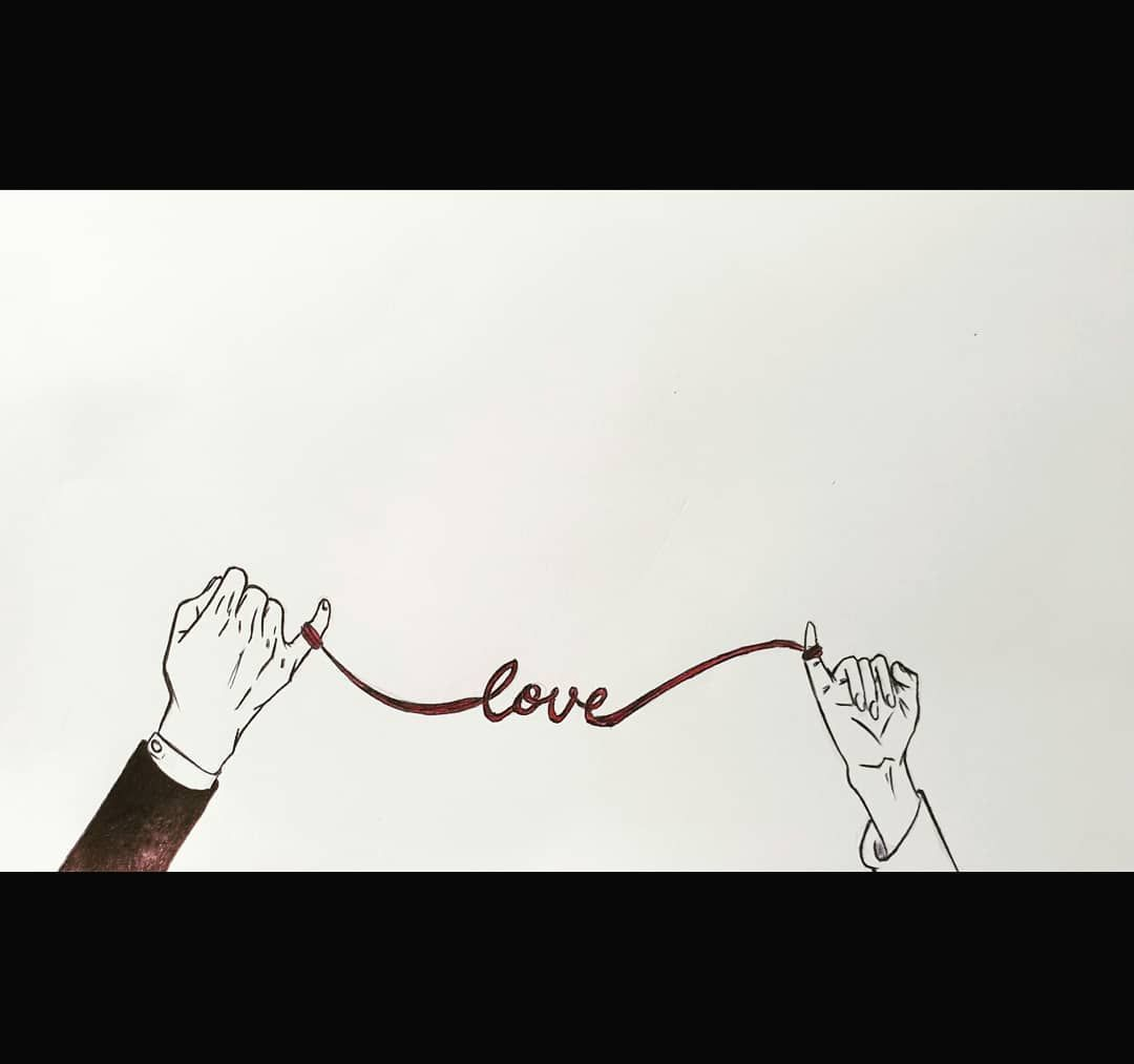 "Día 8: Frail. ""Love is frail; cuídalo, por favor"" . . . . #Inktober2019 #Inktober #Love #manga #Finger"