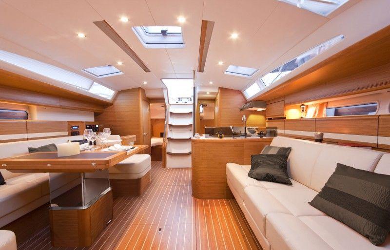 Connu voilier Jeanneau 53 interieur 01 | yacht | Pinterest | Voilier  RD47