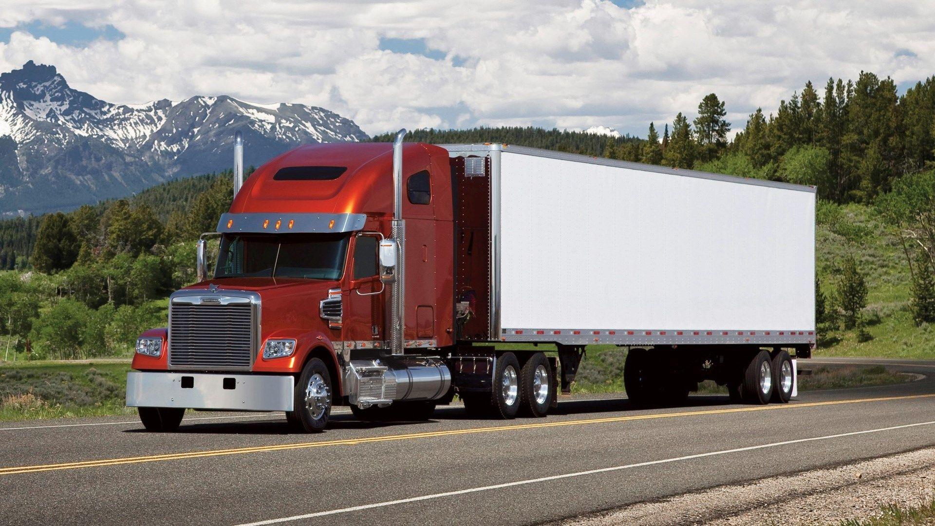 1920x1080 Hq Definition Wallpaper Desktop Freightliner Trucks Freightliner Freightliner Trucks
