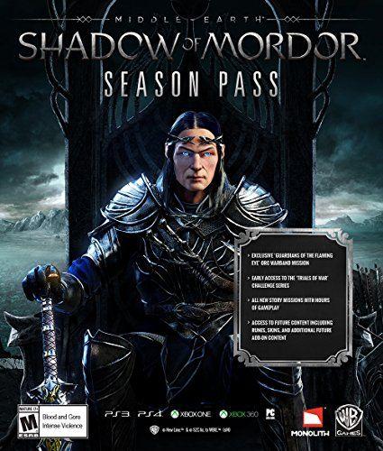 Middle Earth: Shadow of Mordor Season Pass - PS4 [Digital