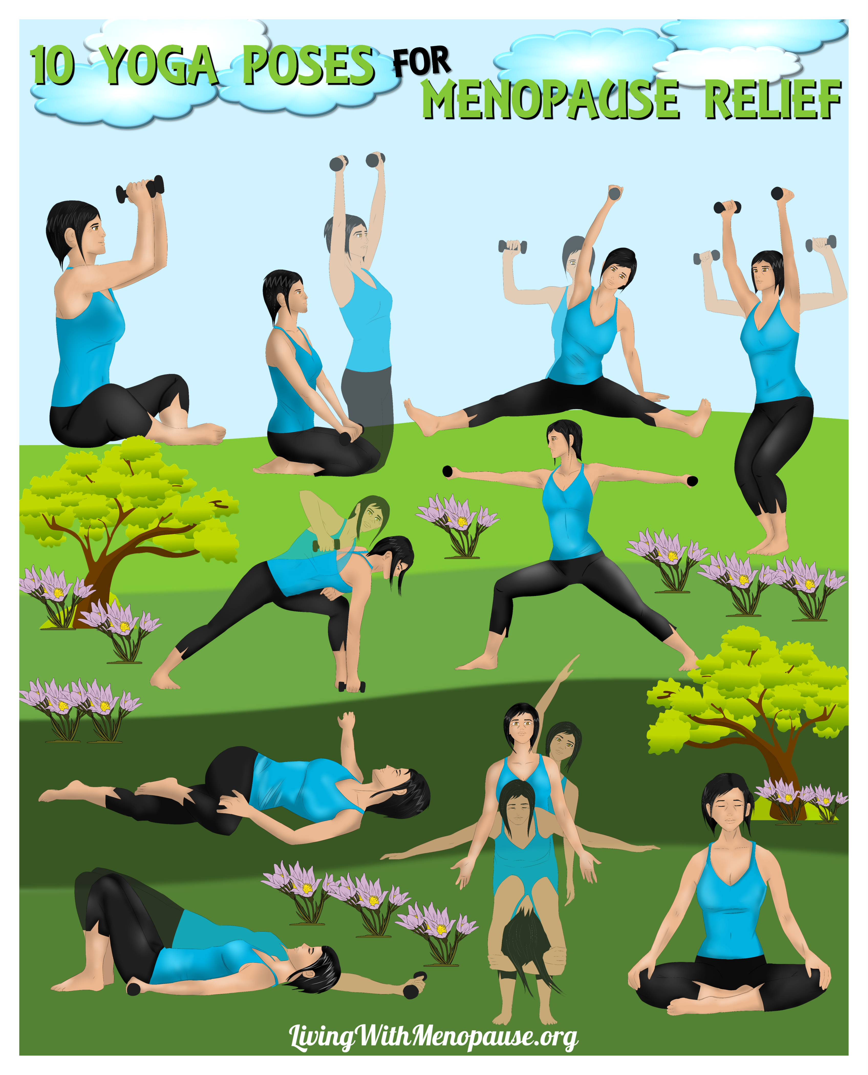 Yin Yoga Poses For Menopause