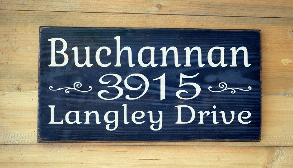 Handmade Sign Plaque Personalised home house family