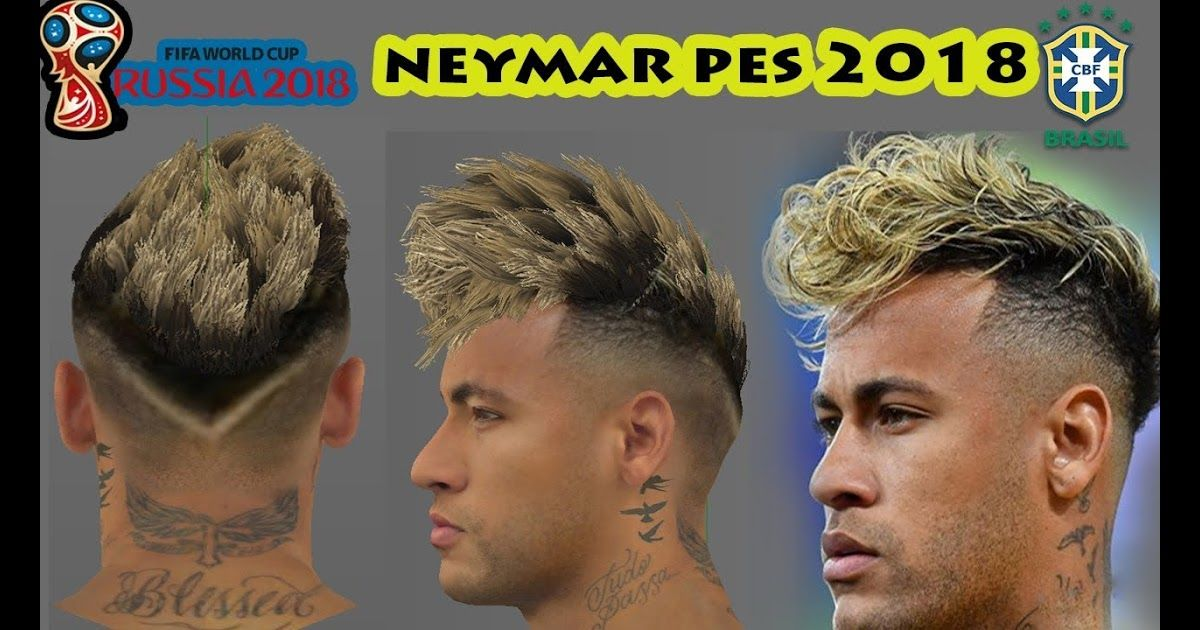 Pes 2018 Neymar New Hair World Cup Update Youtube Top 10 Neymar Hairstyles Haircut 2018 Pin On Cele In 2020 Neymar Jr Hairstyle Hairstyle Neymar Top 10 Hair Styles