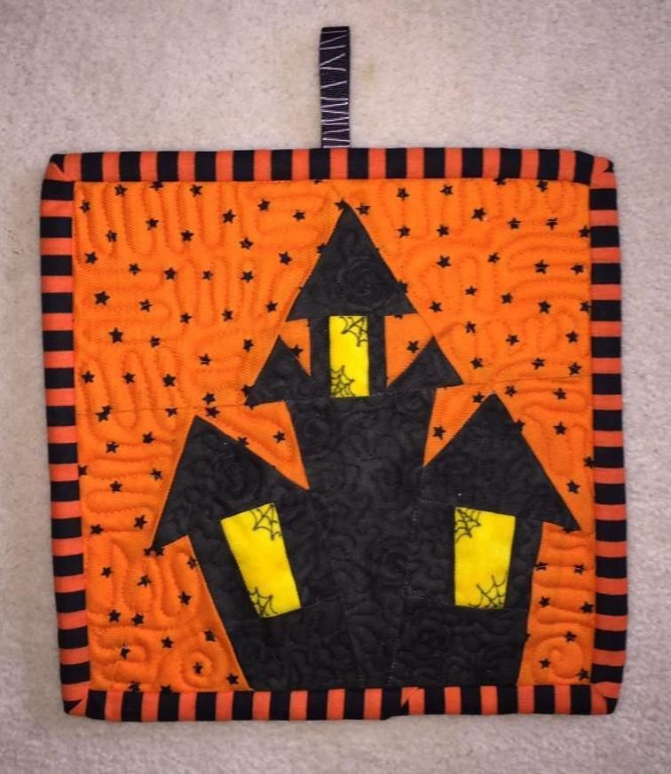 FREE Paper Pieced Halloween Fun Blocks | Craftsy