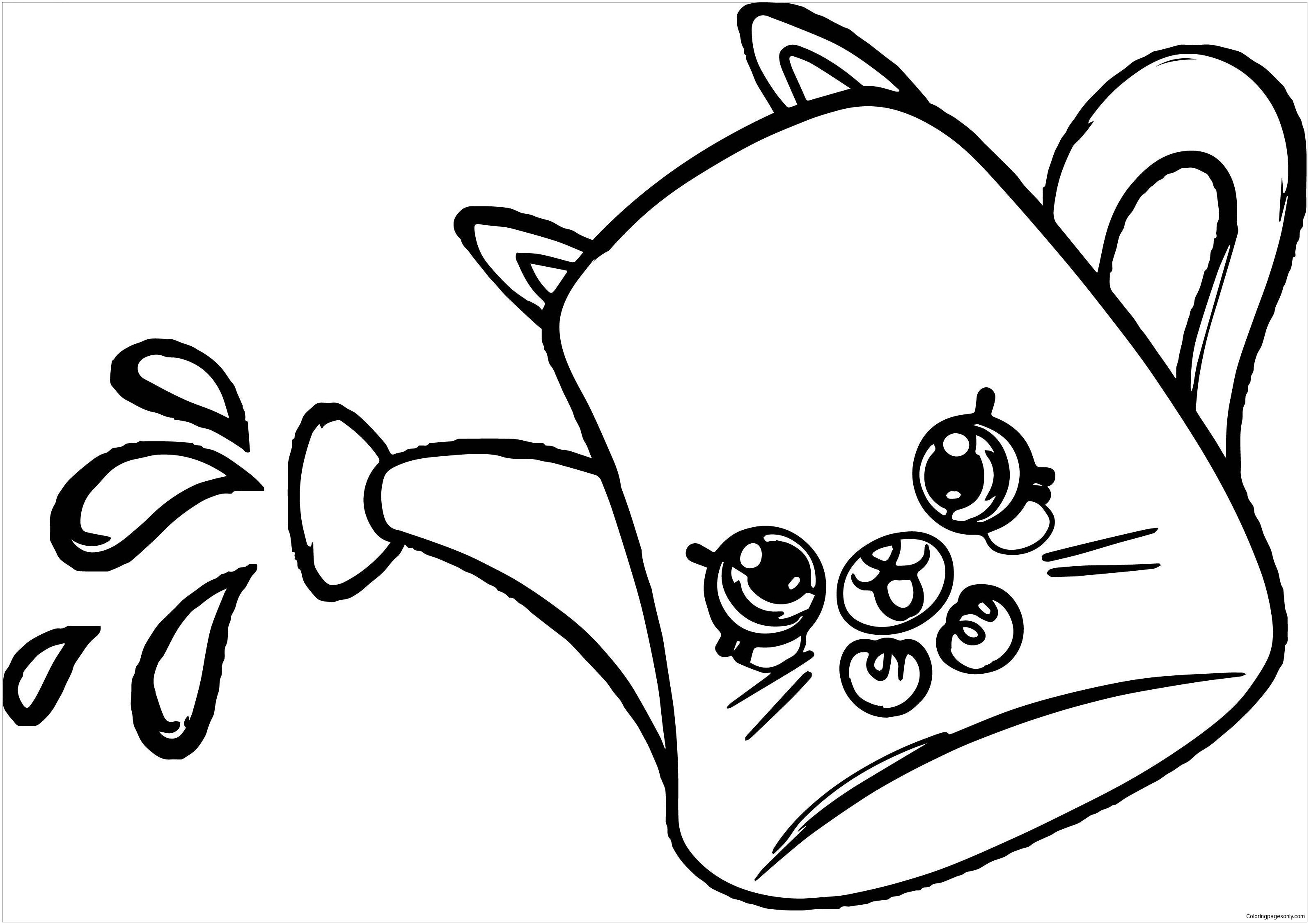 Drips From Shopkins Coloring Page Shopkins Colouring Pages