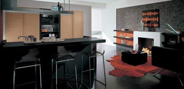 Gatto - Cucina moderna Vanilla 3 Mobili cucine componibili - Cucine ...