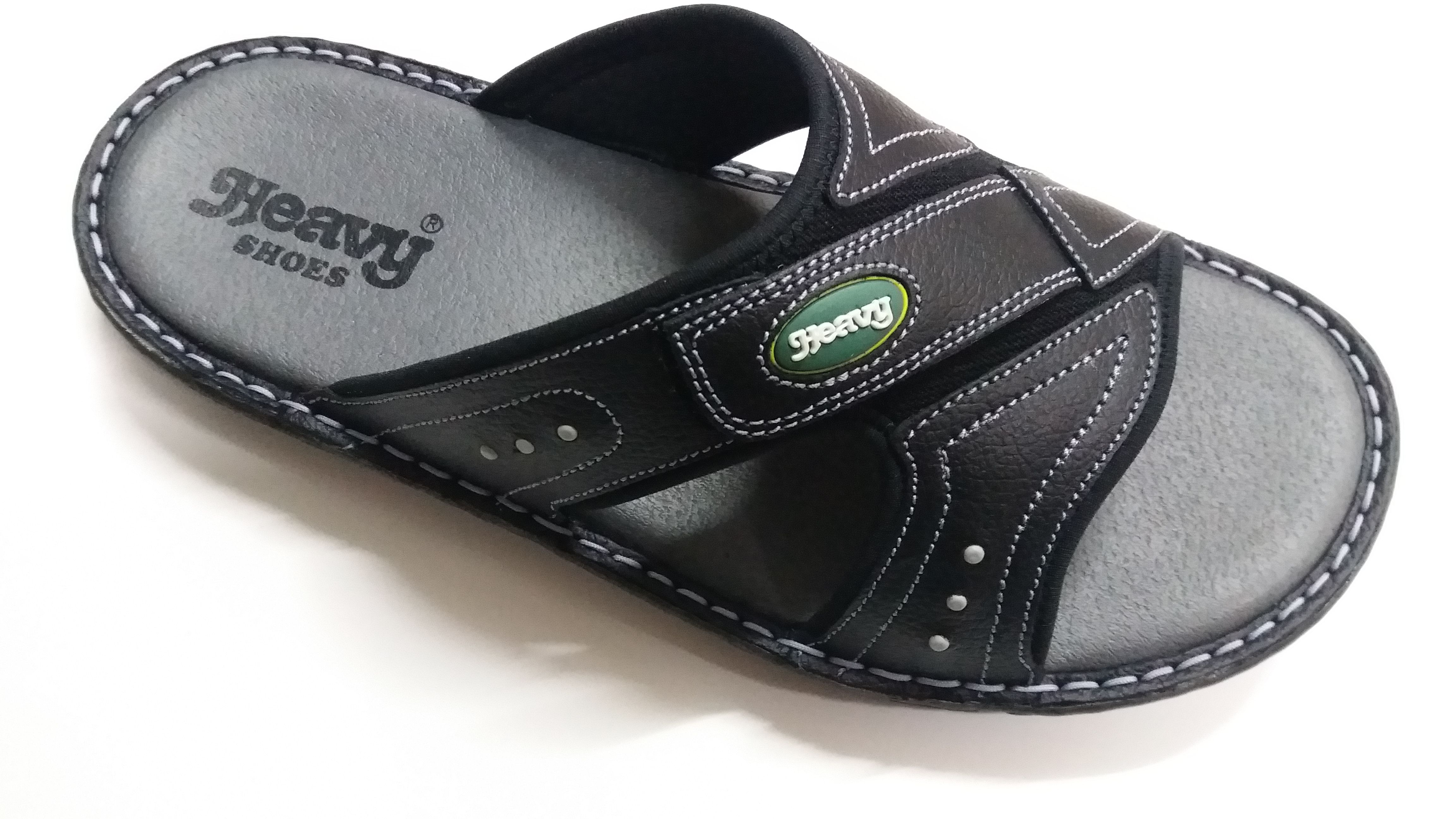 Stylish sandals, Leather slippers