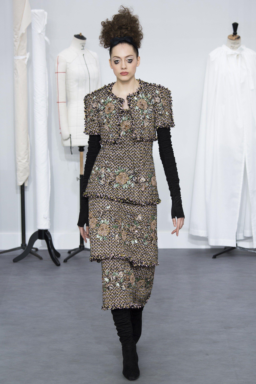 Chanel Fall 2016 Couture Fashion Show - Odette Pavlova (Next)