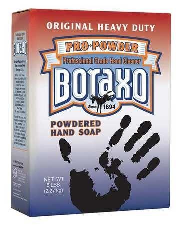 Boraxo Pink Luron Powdered Hand Soap 10 Boxes 5 Lb Per