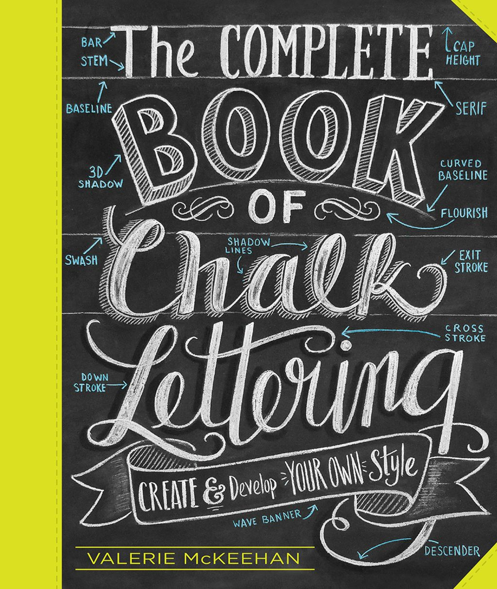 The Complete Book Of Chalk Lettering Ebook Chalk Lettering Chalkboard Lettering Lettering