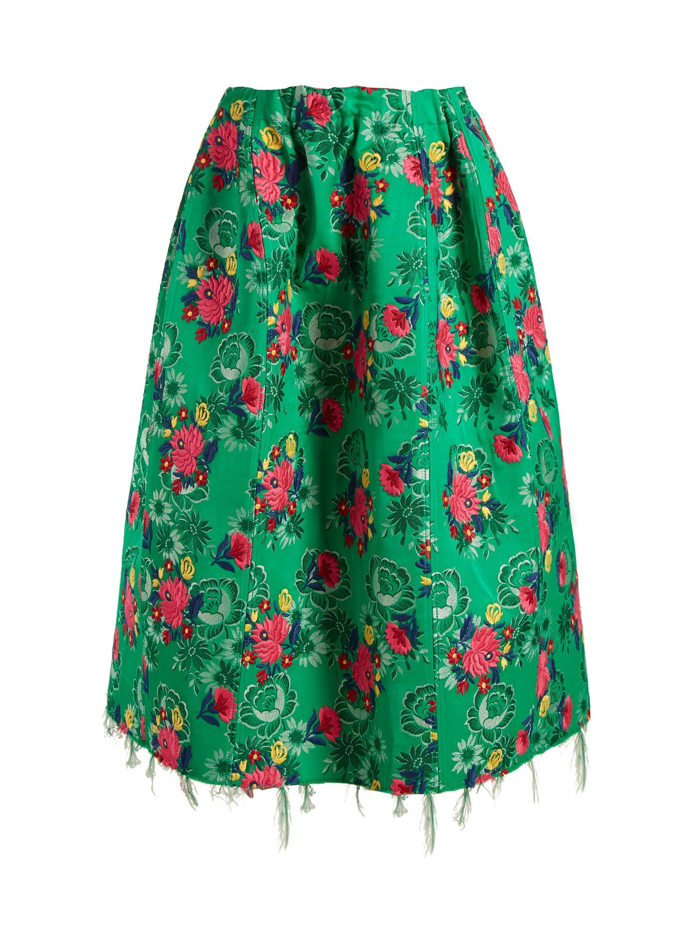 5625ae84ce8 Floral-brocade gathered midi skirt | Marni | MATCHESFASHION.COM FR ...