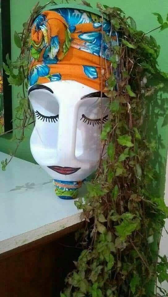 Saved By Radha Reddy Garisa Plastic Bottle Art Diy