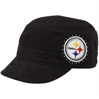 low cost a5497 6c019 Pittsburgh Steelers Women's Cadet Military Hat | NFL Womens ...