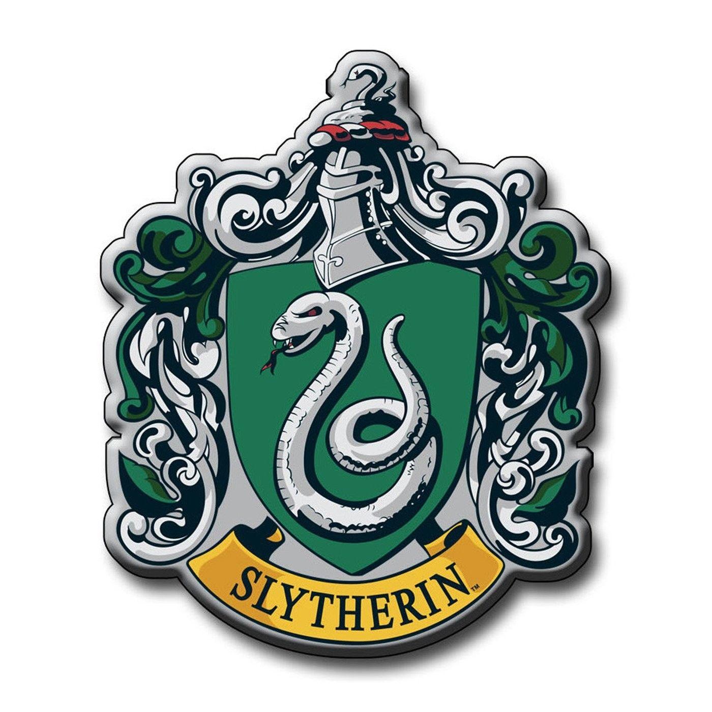 Inspirational Original Slytherin Crest Hogwarts Wappen Harry Potter Wappen Harry Potter Kostum