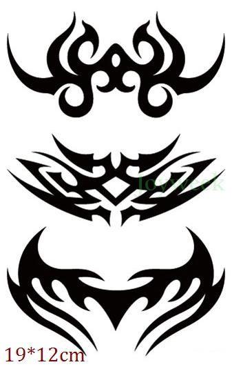 82da3db07feac Waterproof Temporary Tattoo Sticker fire flame totem dragon hawk henna  tatto stickers flash tatoo fake tattoos for women men 7 #Tattoosforwomen