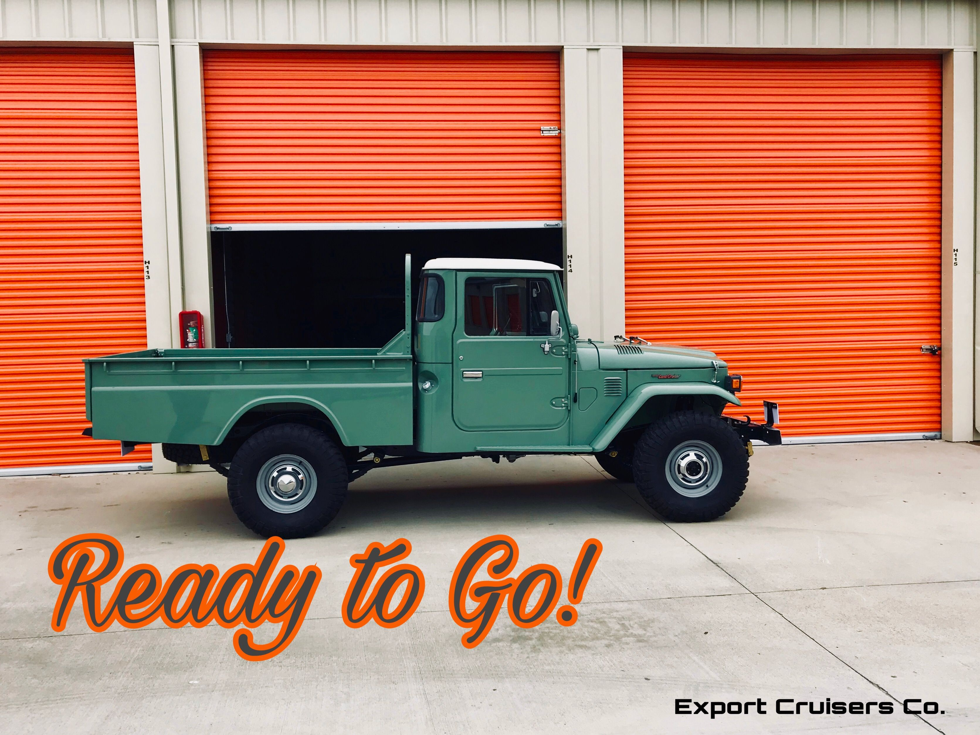 Ready For Sale By Appointment Rare 1978 Toyota Land Cruiser Diesel Long Bed Pickup Fully Professionally Restored Contact Us Now To Be The First To Have The