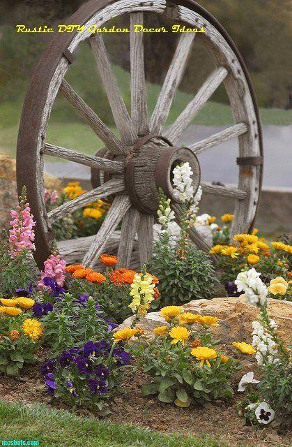 16 Creative and Rustic Garden DIYs