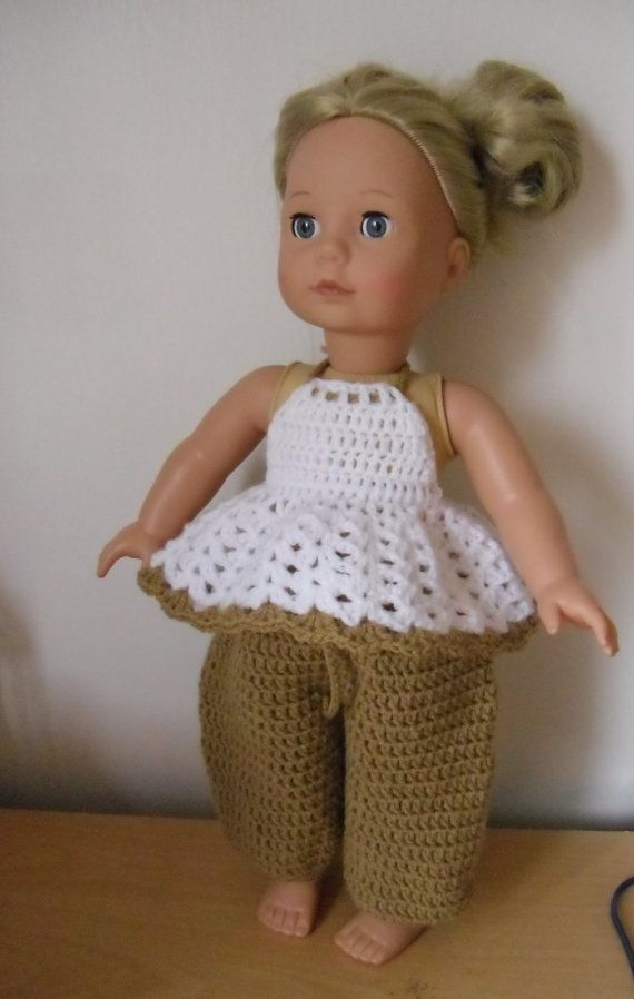 Crochet+pattern+for+trousers+and+top+for+18+inch+by+petitedolls ...