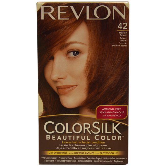 Revlon Colorsilk Beautiful Color 42 Medium Auburn Hair Color 1