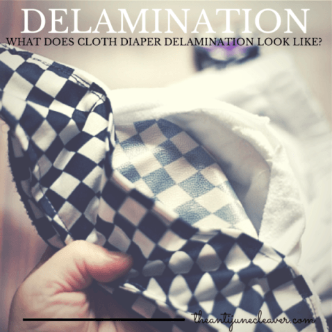 What does cloth diaper delamination look like? #clothdiapers #die-besten-stoffwindeln.de