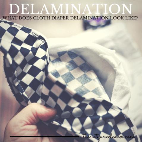 What does cloth diaper delamination look like? #clothdiapers #die-besten-stoffwindeln.de