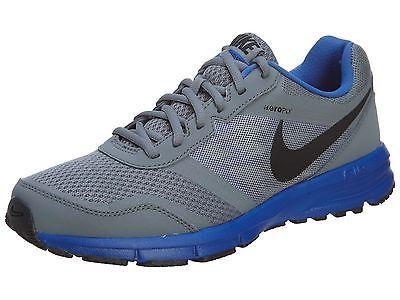 130fce59fdcbf9 Nike Air Relentless 4 Msl Mens 685139-015 Grey Royal Blue Running Shoes  Size 11